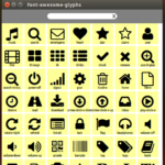 Font Awesome QML Browser